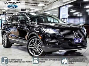 2015 Lincoln MKC 2.3L Reserve, Pano Roof, Nav, Tech Pack, Self P