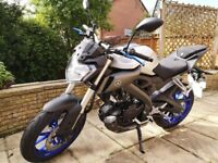 REDUCED - Yamaha MT125 ABS Motorcycle - Perfect Learner Bike - Great Condition Low Miles