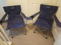 Eurohike Peak Folding Camping Chairs x 2