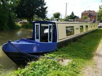 6 berth 60' narrowboat for holiday rental