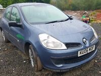 2006 diesel Renault clio expression for sale or p/x