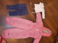Girls 0-12month Baby Bundle (30 items including coats, shoes ad Vintage clothes)