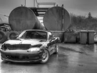 fresh import mk2 rs 6 speed - lots of jdm aftermarket parts fitted - import mazda roadster 1.8