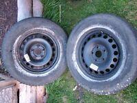 Wheels and Winter Tyres, VW, Skoda Audi