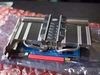 passively cooled silent video card (for HTPC) Sapphire Ultimate HD7750 1G GDDR5 PCI-E HDMI/DVI-I/DP