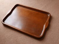Vintage wooden tray (circa 1930s or 1940s)