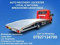 Car Breakdown Recovery Tow Service Leicester