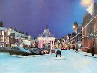 Beverley at Christmas - Original Artwork