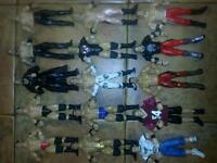 Wwe figures, ring, titantrons, backstage, elimination chamber, weapons & accessories