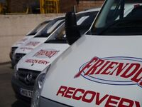 Vehicle Recovery Drivers Wanted (7.5T+ LICENSE)