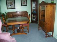 1930's Gibbard Dining suite