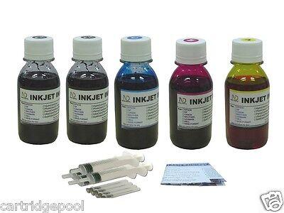 Refill Ink Kit For Hp 61 61xl Deskjet 1050 2050 5x4oz/s