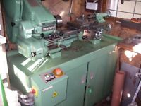 myford supe seven lathe with lots of myford parts
