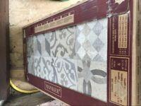 Porcelanosa *NEW* 'Dover Antique' tiles x 9