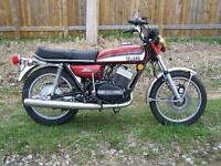 1973 Yamaha RD350 - only 5108 miles!!!