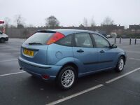 Ford Focus 1.6 LX with MOT until Jan 2018
