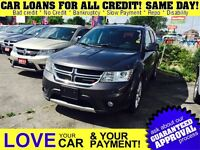 2015 Dodge Journey R/T * LEATHER * 7PASS * AWD * SCREEN