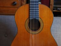 Classical Guitar - by Ricardo Sanchis, very beautiful, cedar and Brazilian rosewood with case