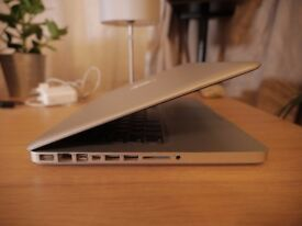 13 inch Macbook - mid 2012 (2.9 Ghz Intel Core i7) 8GB - 750GB storage
