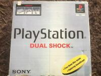 PlayStation 1 boxed console. Ps1