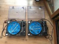 Technics SL-1210MK2 Turntables