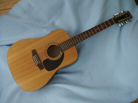 Simon and Patrick Woodland Spruce 12 string Electro-Acoustic Guitar A3. Solid Spruce top.