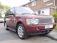 Range Rover Vogue V8 Auto 2003 (Red)