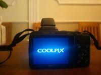 Nikon Coolpix L330 Compact Digital Camera - Black+16GB Memory Card