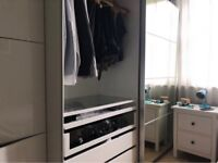 Large 2 sliding door wardrobe mint condition