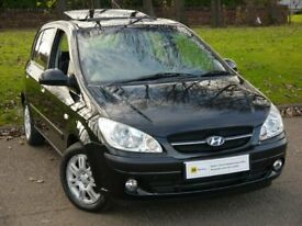 AUTOMATIC**** Hyundai Getz 1.4 CDX 5dr ** FREE 12 MONTH MOT** FREE 6 MONTH AA WARRANTY** FINANCE ME
