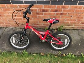 Falcon Ruffian bike 16 inch wheels, for age approx 5-8 years