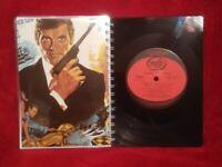James Bond 007 Themes A5 Handmade Vinyl Notebook