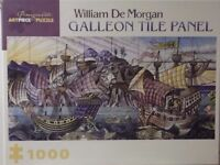 1000 PIECE JIGSAW PUZZLE - GALLEON TILE PANEL.