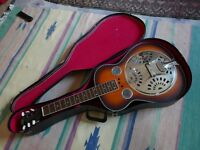 REGAL RD-40 VINTAGE RESONATOR, SQUARE NECK for lap playing