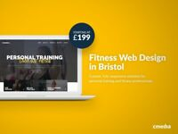 Fitness web design in Bristol from £199 - get online in 7 days