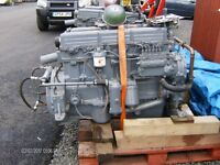 2x fully wired with dash ford D6 marine engines for sale