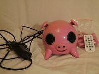 Amethyst Pink Pig Speaker