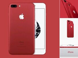 Iphone 7 plus RED 128G Brand New EE