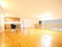 N16- Stoke Newington - Large 3 bedroom 3 reception Split level apartment in converted warehouse