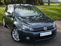£0 DEPOSIT FINANCE (60) Volkswagen Golf 2.0 TDI GT 6 SPEED 5dr***STUNNING** FREE AA WARRANTY***