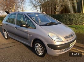 Xsara picasso low mileage and low fuel consumption
