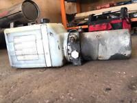Hydraulic tipper bed pump