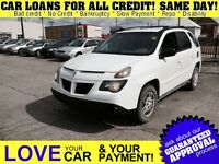 2004 Pontiac Aztek * FRESH TRADE IN * PRICED TO SELL * OPEN ON S