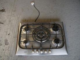 Bosch 5 burner gas hob (wok burner in centre)