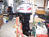 MARINER 25HP OUTBOARD NEW.