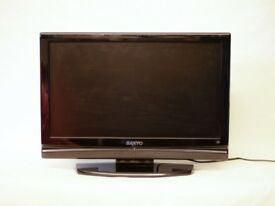 """19"""" inch TV - Sanyo - HDMI/Freeview/PC monitor"""