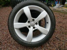 "Audi A1 16"" Alloy wheels c/w Winter Tyres"