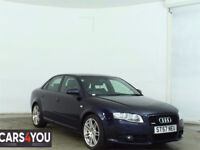 2008, AUDI A4 2.0 TDI QUATTRO S LINE SPECIAL EDITION 4d 170 BHP BLUETOOTH, FRONT & REAR PARKING AID
