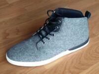 Creative Recreation CR8 Mid Top Mens Grey Black Causal Shoe Trainer. Cost £75, worn twice UK 8 EU42