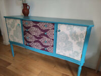 UPCYCLED SOLID WOOD SIDEBOARD